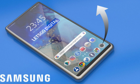 Samsung has filed a patent for rollable in-screen camera