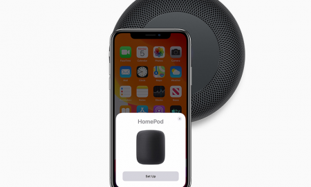 iPhone to HomePod