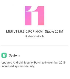 miui 11 update redmi 8
