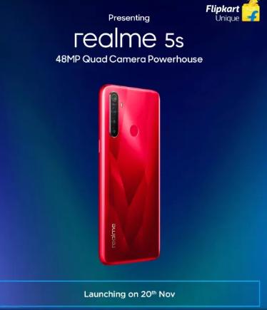 realme 5s color