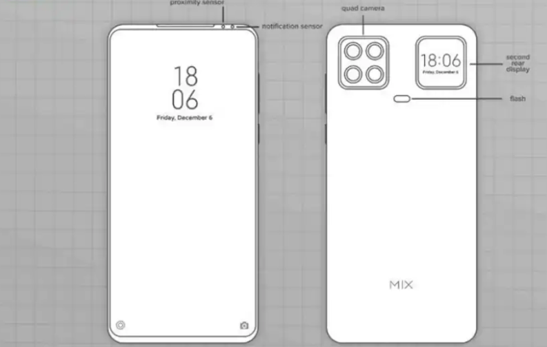 xiaomi mix phone patent