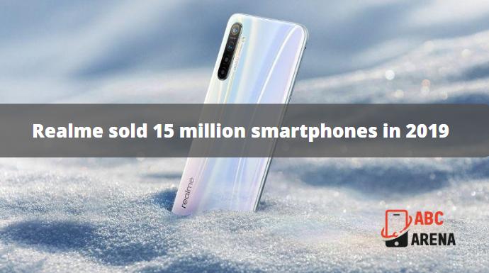 Realme sold 15 million smartphones in 2019