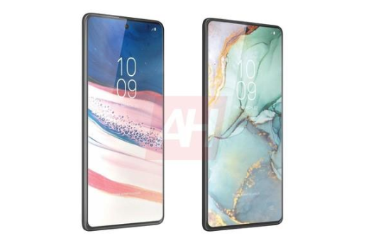 Samsung Note10 Lite (left) and S10 Lite (right)