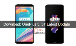 Oneplus 5, 5t latest update