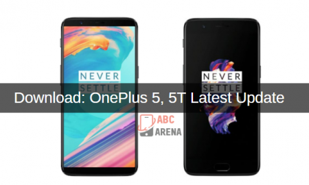 Oneplus 5, 5t latest update