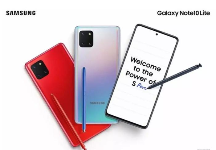 amsung Galaxy Note 10 Lite