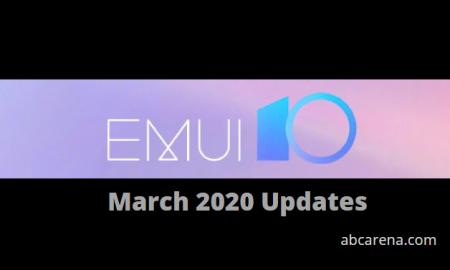 emui 10 march 2020 update