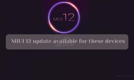 MIUI 12 eligible list