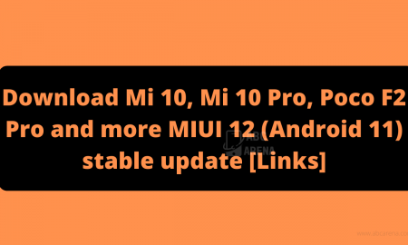 MIUI 12 update Download links