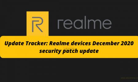 Realme Update Tracker